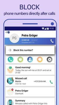 Call Blocker capture d'écran 6
