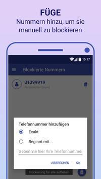 Anrufblocker Screenshot 2