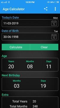 Age Calculator screenshot 1