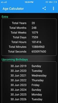 Age Calculator screenshot 2