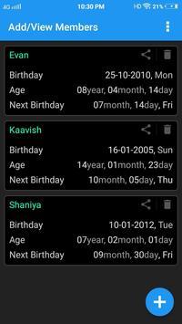 Age Calculator screenshot 3