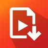 Social video downloader-icoon