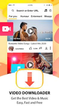 Vidmedia downloader video HD app poster