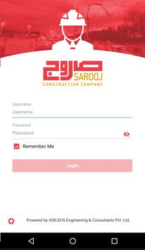 Sarooj HSE screenshot 1