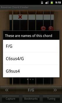 1 Schermata Reverse Chord Finder Free