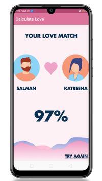 Real Love Calculator - Test Your Love screenshot 2