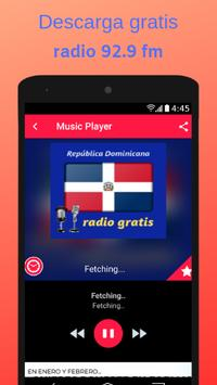 radio 92.9 fm poster