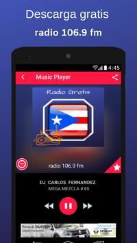 radio 106.9 fm poster