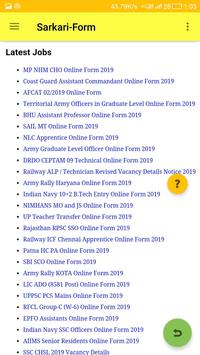 Sarkari-Form : India's No.1 Government Job App screenshot 4
