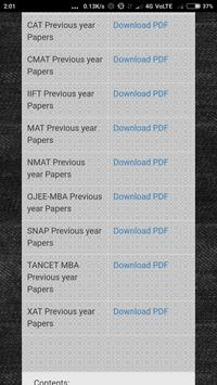 Question Papers for MBA Entrance Exam for Android - APK Download