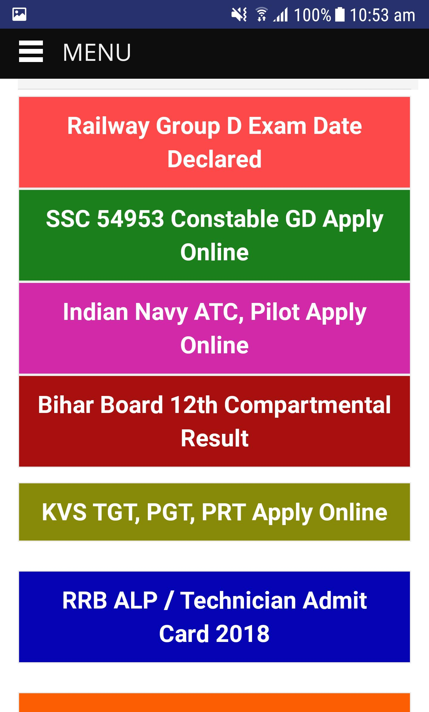 Sarkari Result for Android - APK Download
