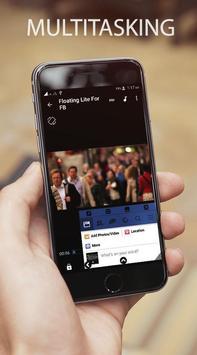 Floating Lite for Facebook screenshot 2