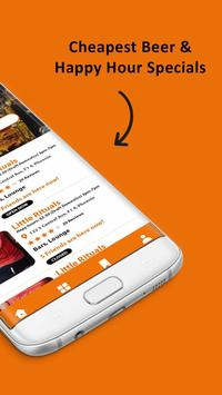 MyBeerBuddy - Find happy hours and specials screenshot 1