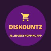 Diskountz - All In One Shopping App icon
