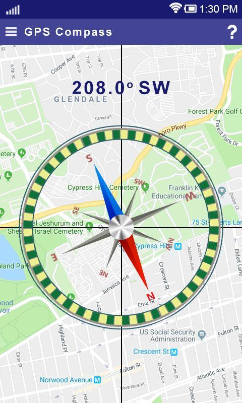 Satfinder (dishpointer) with Gyro compass for Android - APK