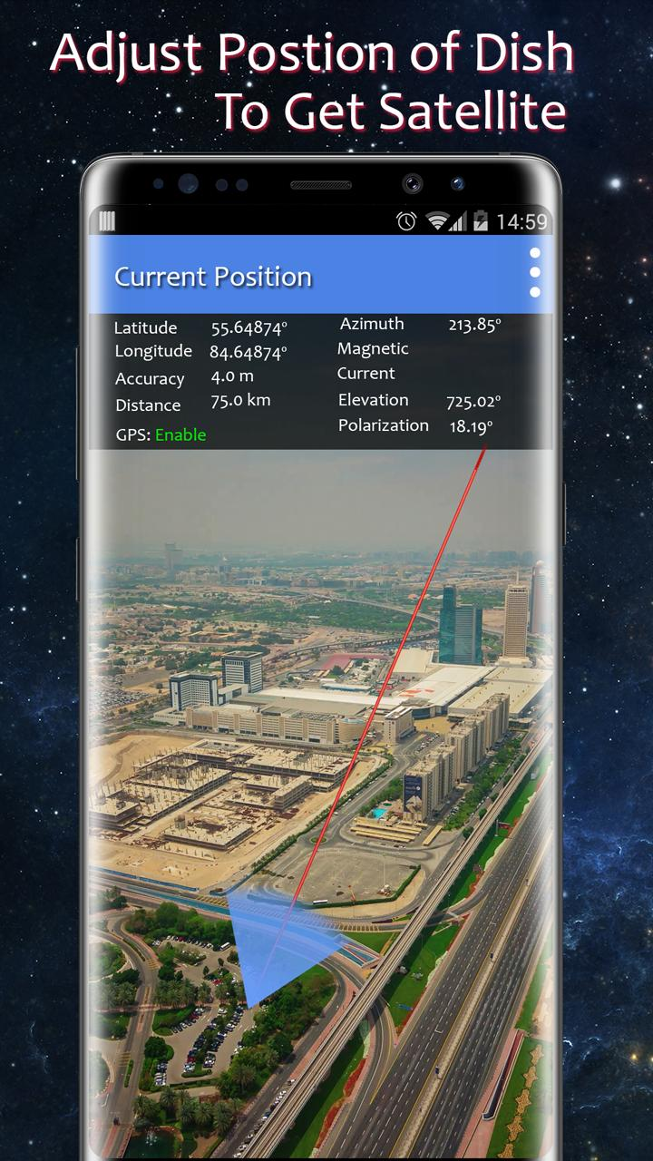 SatFinder Quick Pointer - GPS Space AR Navigation for