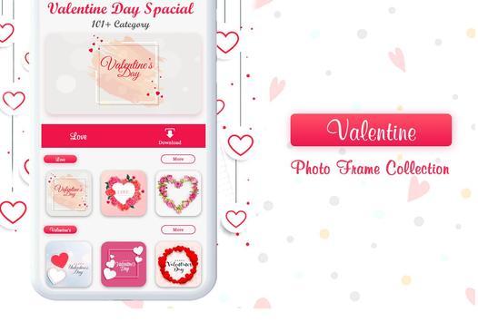Valentine Photo Frames 2019 screenshot 4