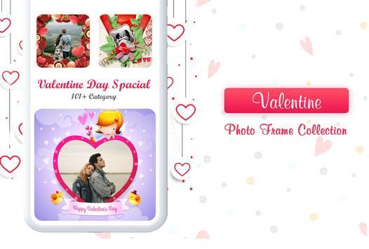 Valentine Photo Frames 2019 screenshot 1