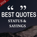Best Quotes,Status & Sayings