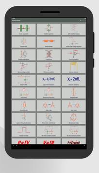 Electrocal - electronics circuit calculator imagem de tela 10
