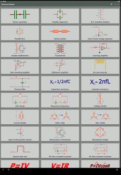 Electrocal - electronics circuit calculator imagem de tela 12