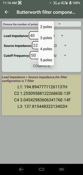 Electrocalc - electronic circuit calculator screenshot 5