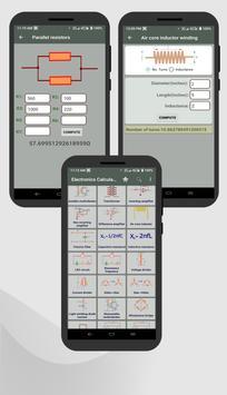 Electrocal - electronics circuit calculator imagem de tela 6