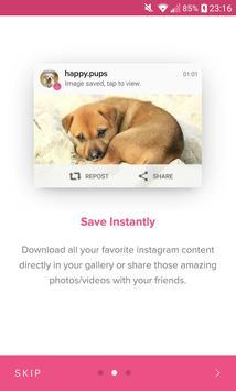 Save & Repost for Instagram скриншот 6