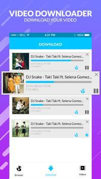 Free video downloader-all downloader app screenshot 1