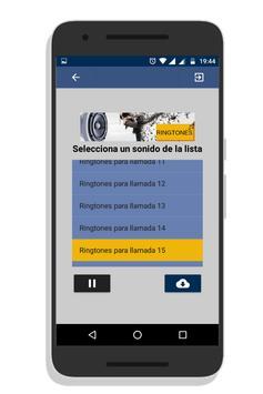 Ringtones para llamadas para android. screenshot 2