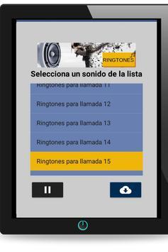 Ringtones para llamadas para android. screenshot 6