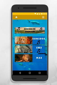 sonidos de animales para tonos y llamadas gratis poster