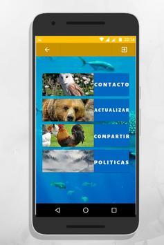 sonidos de animales para tonos y llamadas gratis screenshot 1