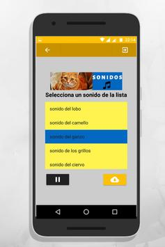 sonidos de animales para tonos y llamadas gratis screenshot 2