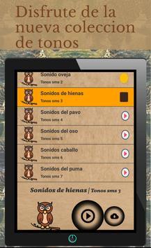 sonidos de animales para tonos de llamadas screenshot 6