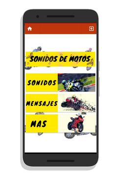Motorcycle sounds for Android poster