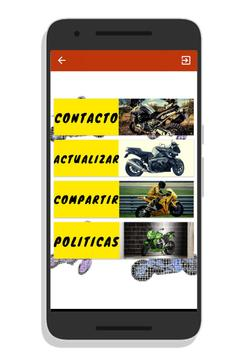 Motorcycle sounds for Android screenshot 2