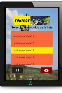 Motorcycle sounds for Android screenshot 5