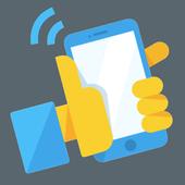 Agitando Telefone em SayHi! ícone