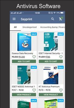 Sayprint Data Recovery Marketplace screenshot 1