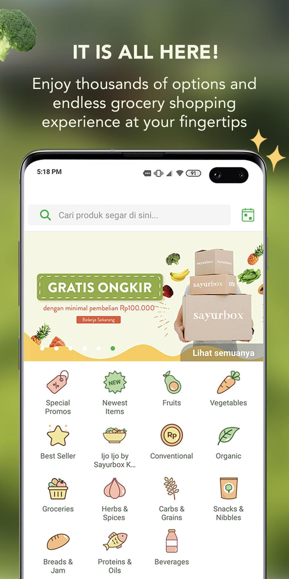 Sayurbox for Android - APK Download