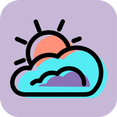 Cloud sky icon