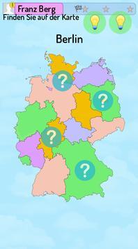 Die deutschen Bundesländer poster