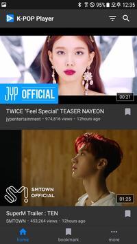 K-POP Player screenshot 1