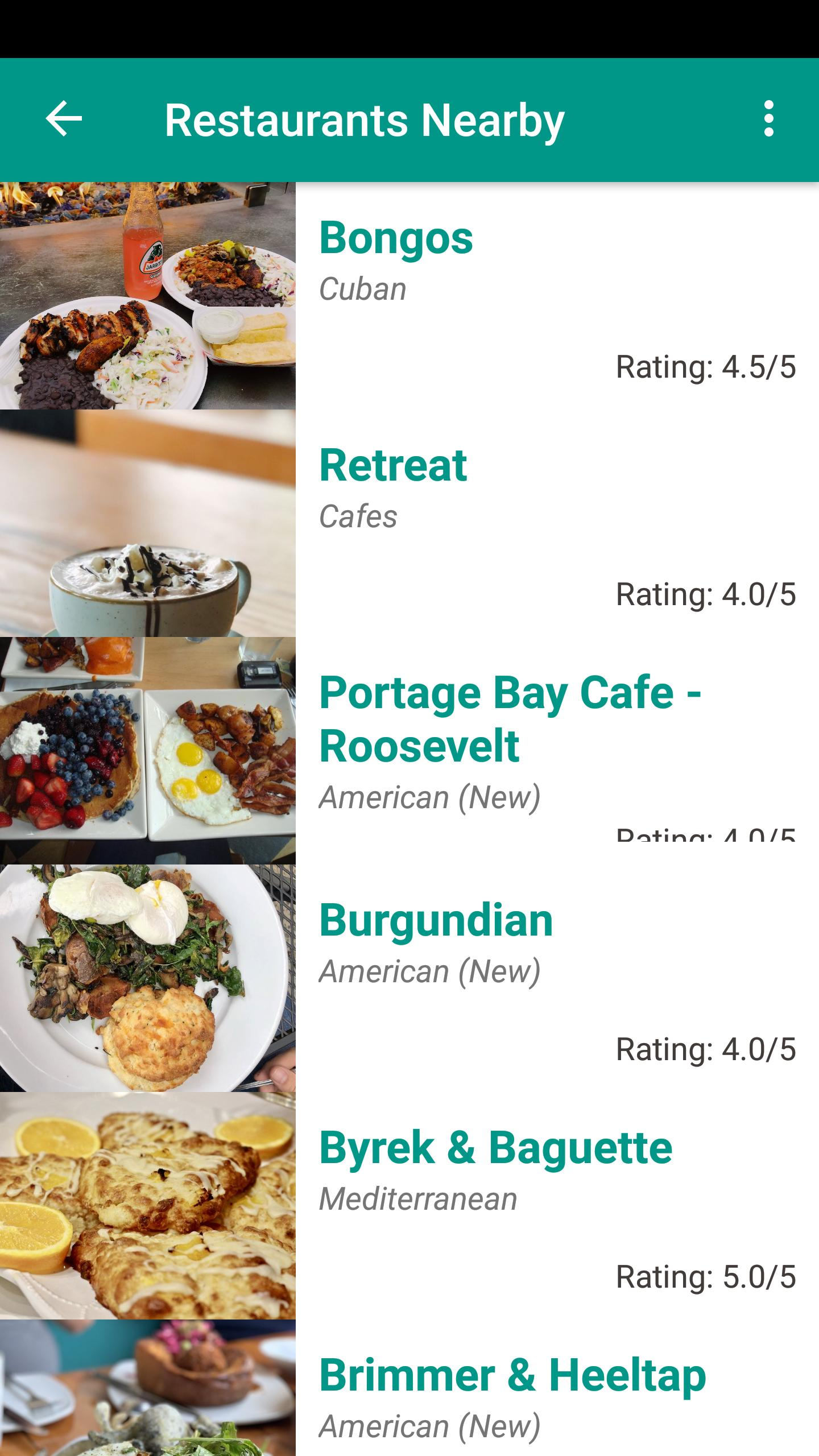 Restaurants Nearby For Android Apk