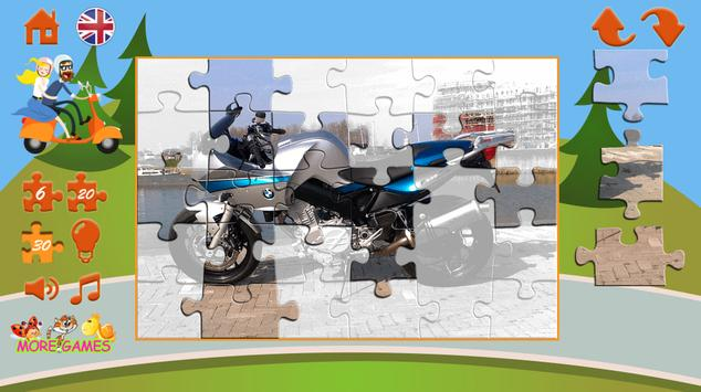 Puzzles motorcycles screenshot 14