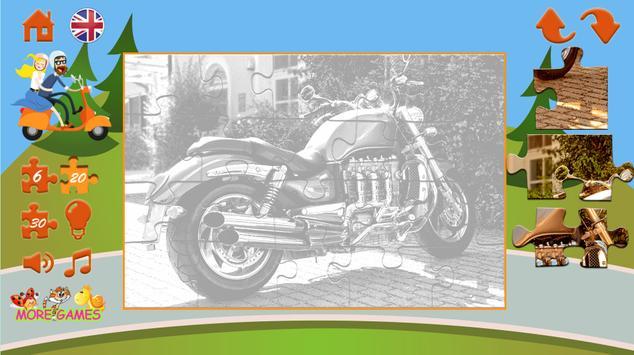 Puzzles motorcycles screenshot 12
