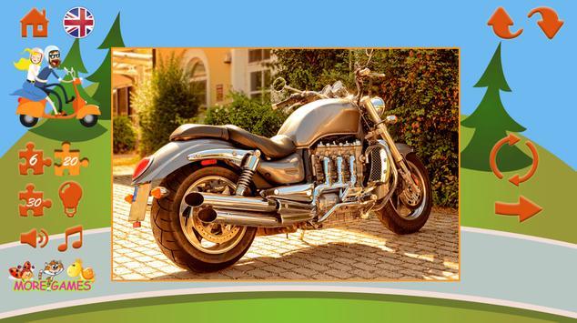 Puzzles motorcycles screenshot 5