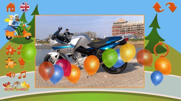 Puzzles motorcycles screenshot 7