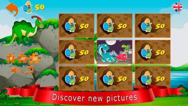 Dinozorlar bulmaca Ekran Görüntüsü 15